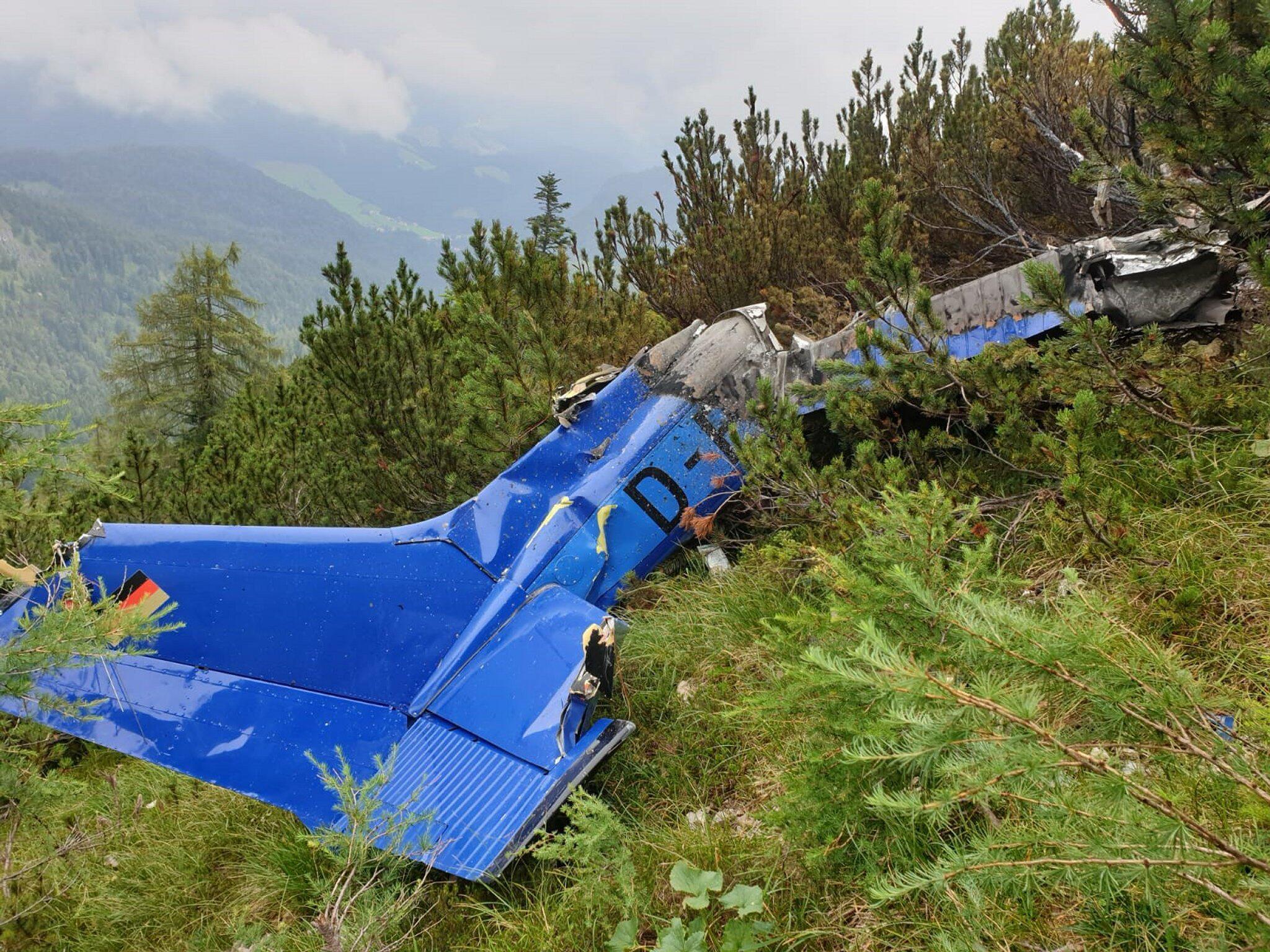 Bild zu Vermisstes Kleinflugzeug in Bayern entdeckt