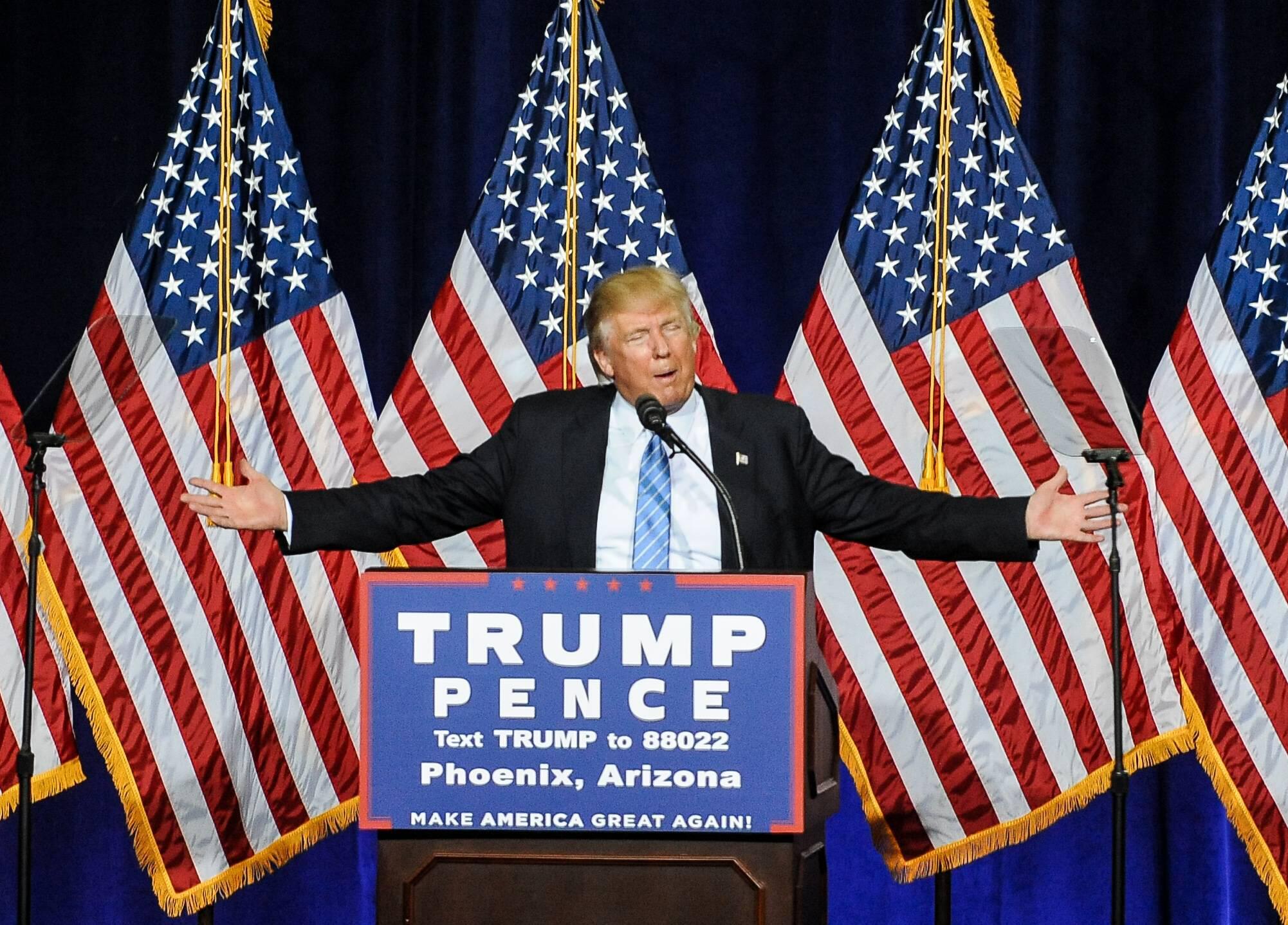 Bild zu Donald Trump, US-Wahl, Swing States, Hillary Clinton