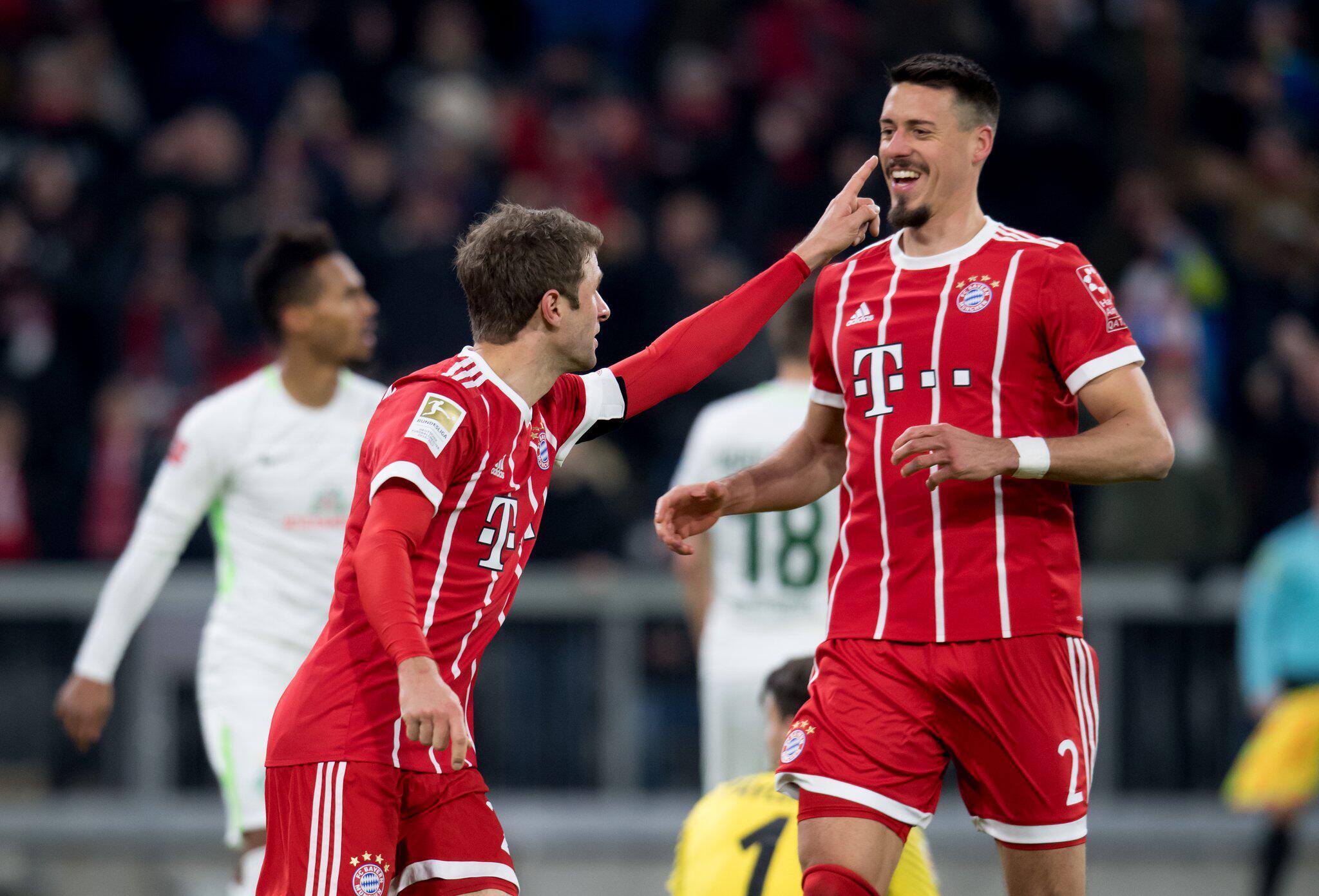 Bild zu Bayern Munich vs Werder Bremen