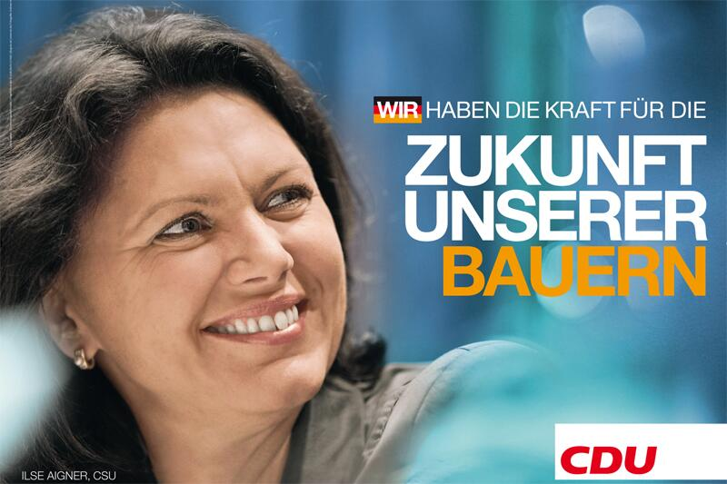Bild zu CDU-Wahlplakat