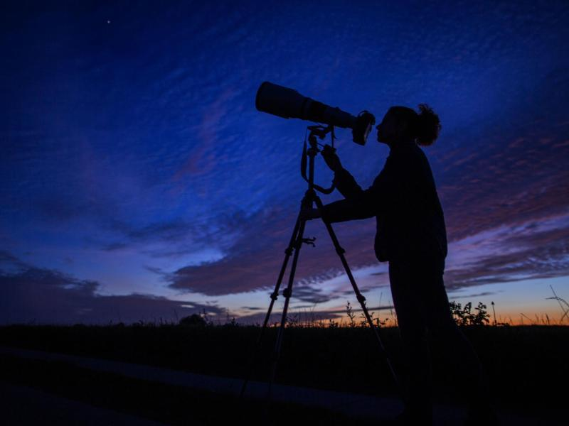 Bild zu Sternenbeobachtung