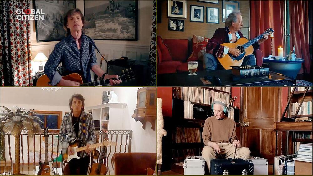 Global Citizen Konzert - Rolling Stones