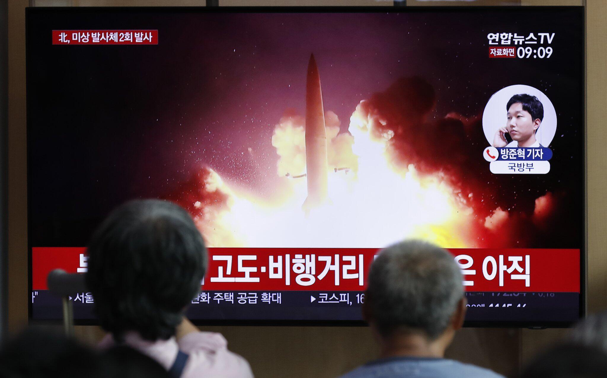 Bild zu Erneuter Raketentest von Nordkorea