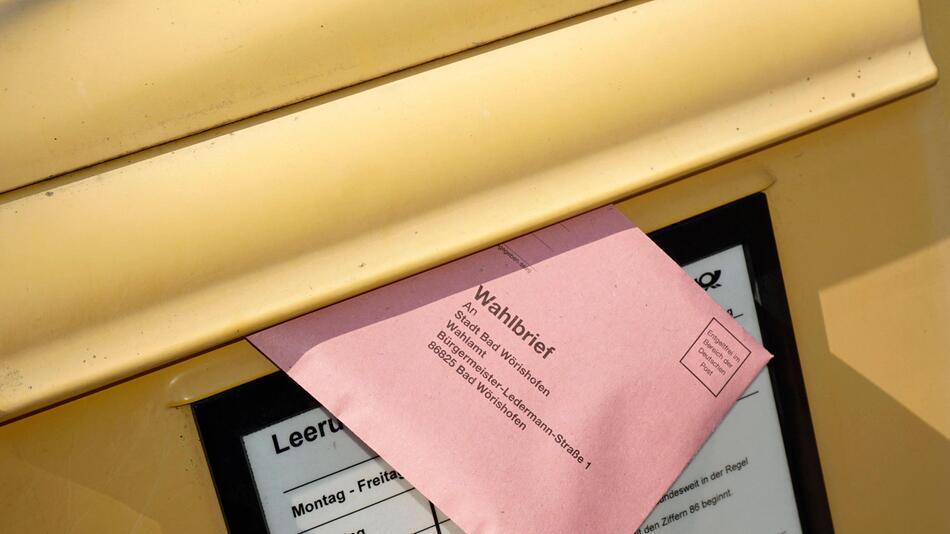 Briefwahl beantragen für die Bundestagswahl 2021: So geht's.