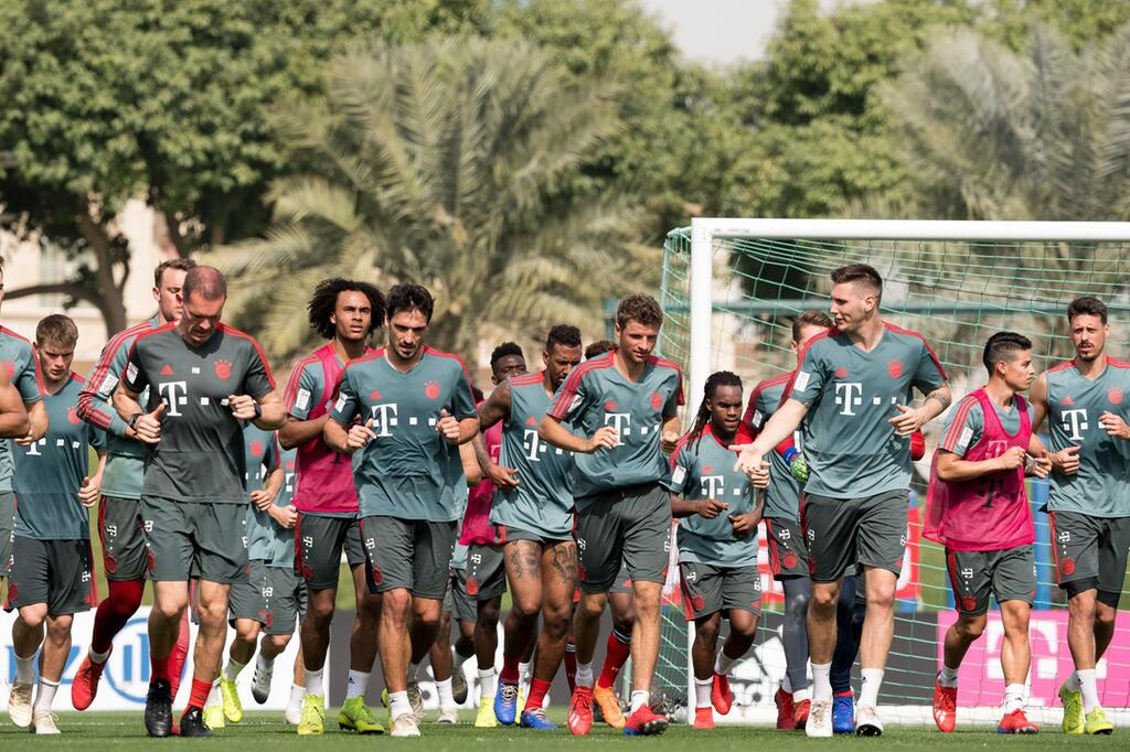 FC Bayern München, Trainingslager, Doha, Katar