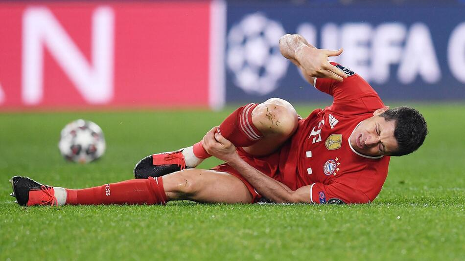 Fussball, Bundesliga, FC Bayern München, Robert Lewandowski