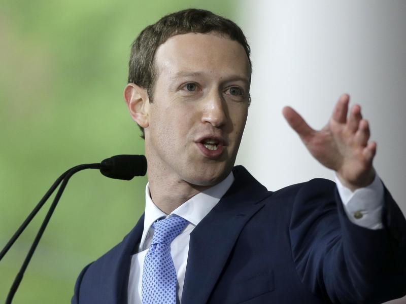 Bild zu Facebook-Gründer Zuckerberg