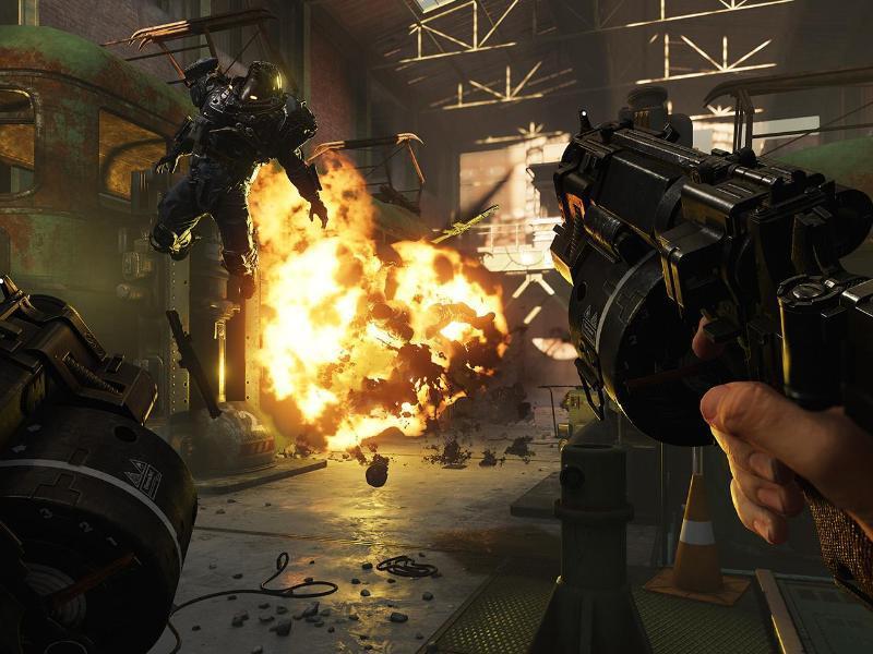 Bild zu Szene aus Wolfenstein II:The new Colossus
