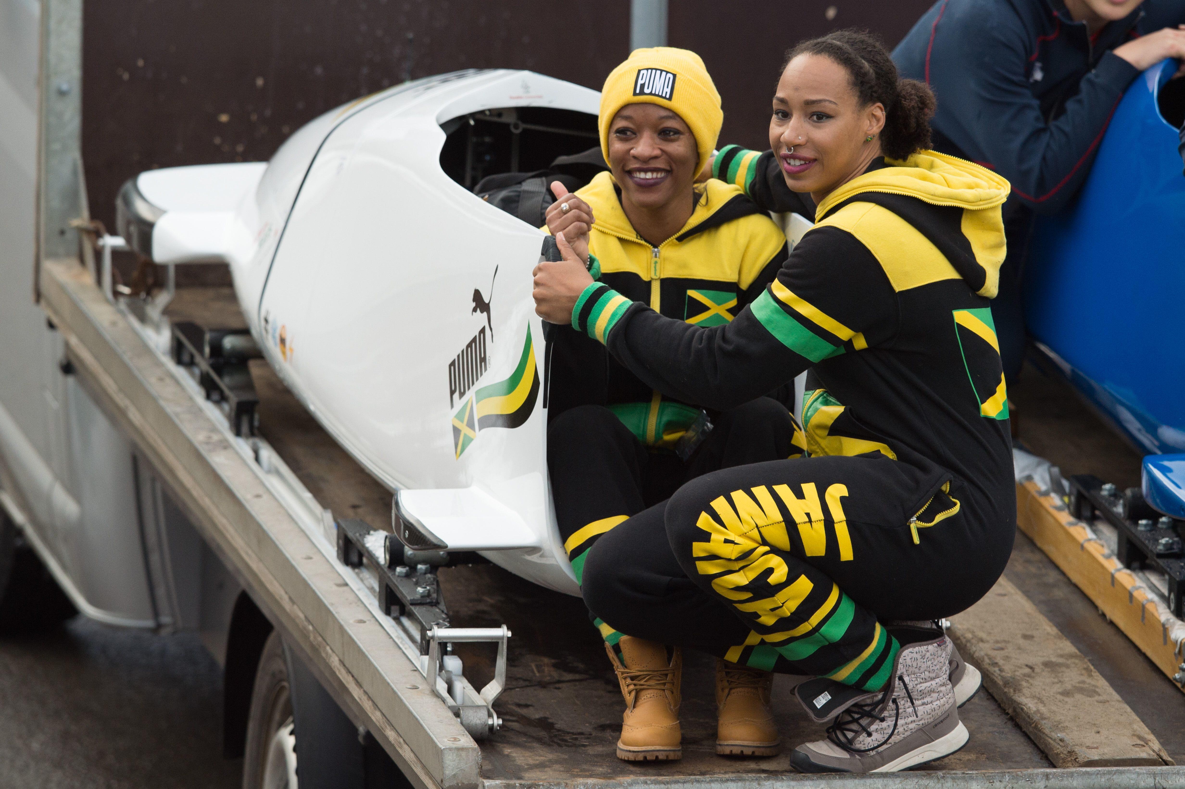 Bild zu Jamaika, Olympia, Olympische Spiele, Bob, Sandra Kiriasis