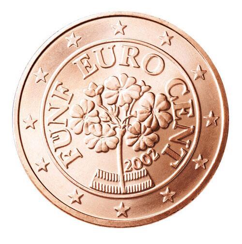 Die Motive Der 5 Cent Münzen Gmxch
