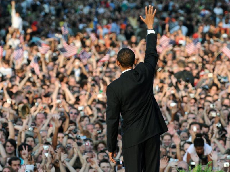 Bild zu Obama in Berlin