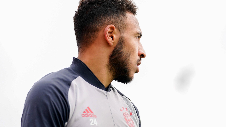 Bild zu Tolisso bei Training des FC Bayern Muenchen.