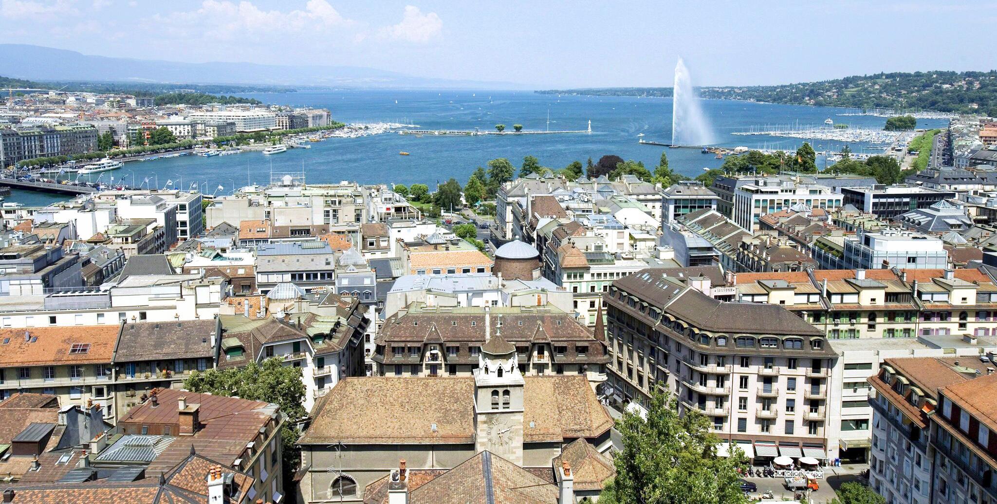Bild zu Stadtansicht Genf