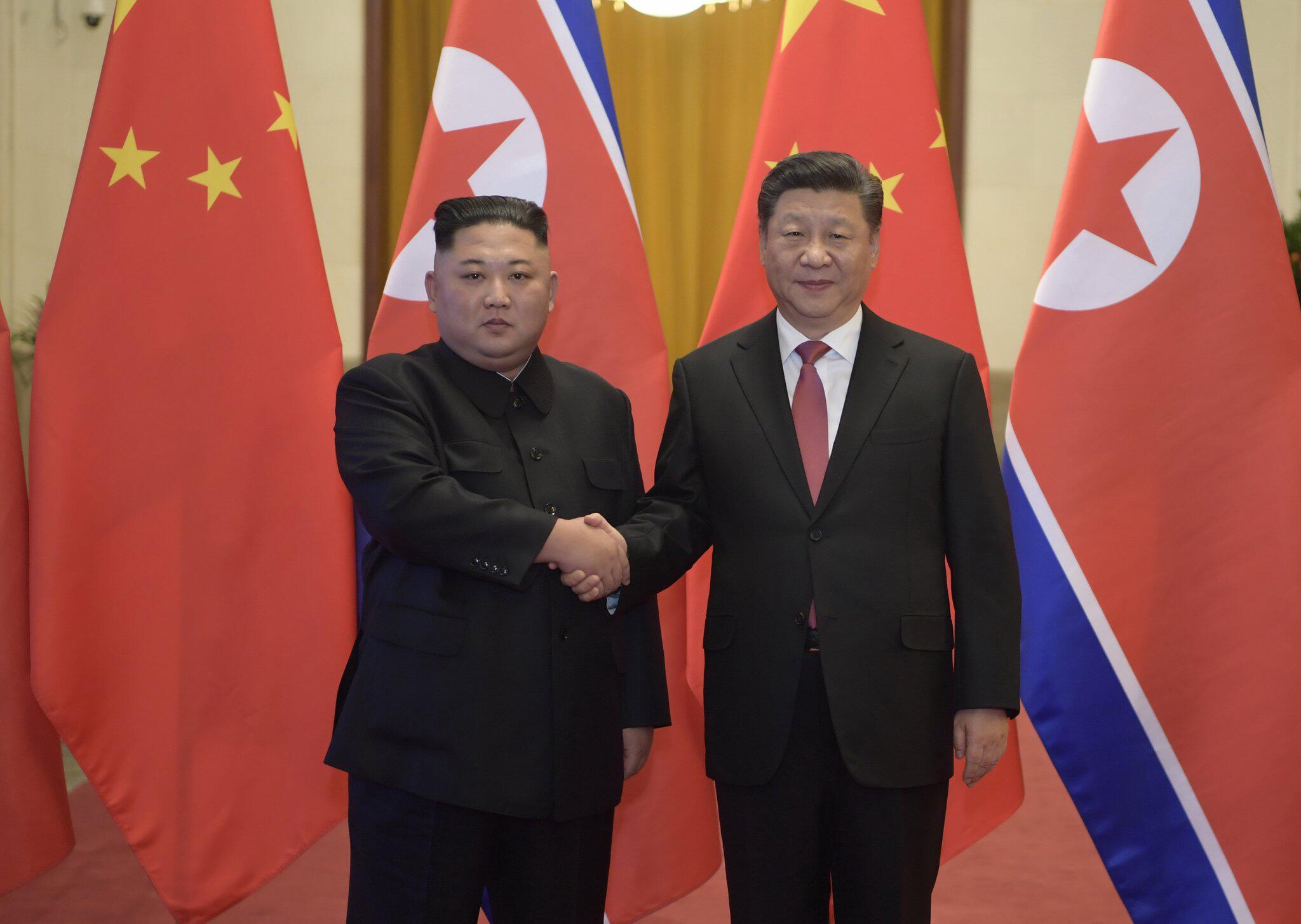 Bild zu Machthaber Kim besucht China