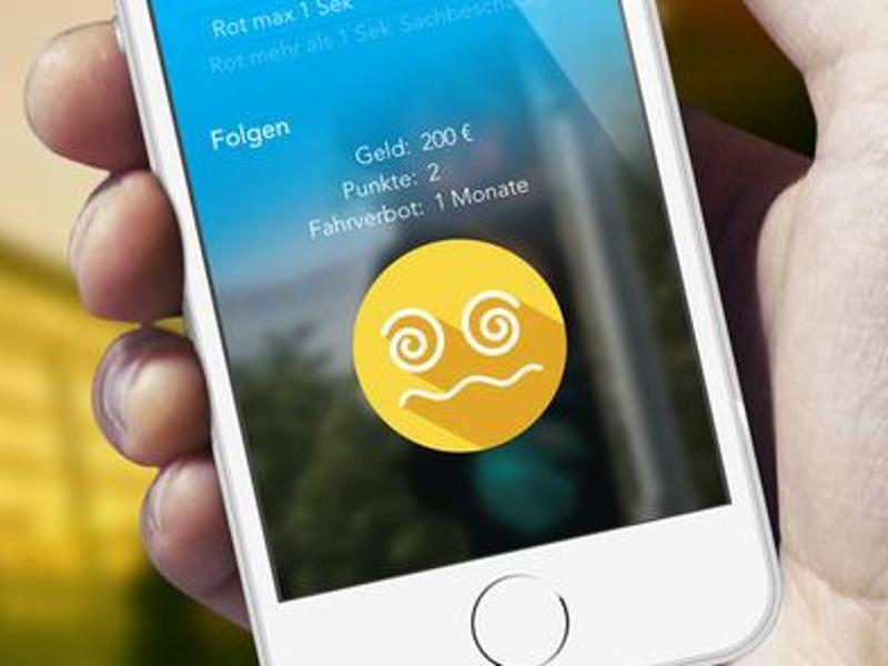 Bild zu App Bussgeldrechner 2016
