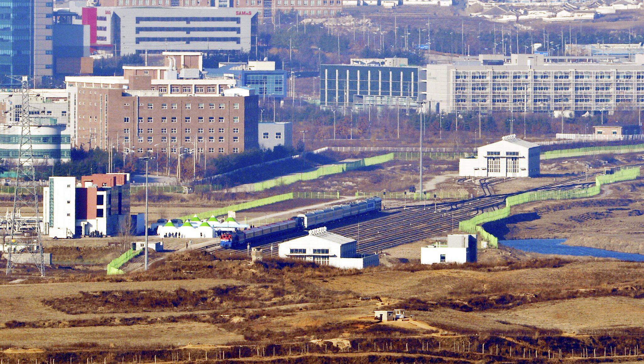 Bild zu Eisenbahn zwischen Süd- und Nordkorea
