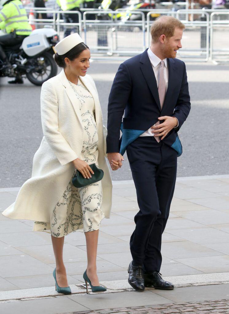 Bild zu Herzogin Meghan und Prinz Harry