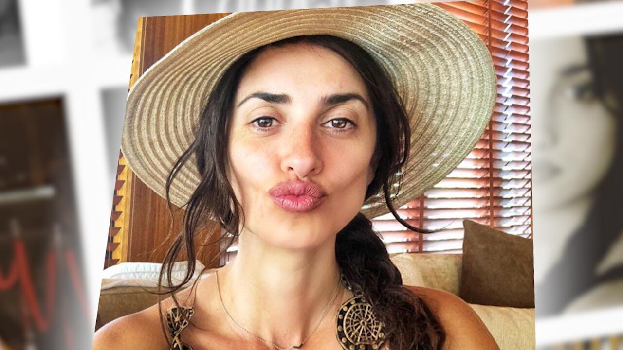 Bild zu Auch ungeschminkt eine wahre Schönheit:Penélope Cruz begeistert mit einem No-Make-up-Selfie
