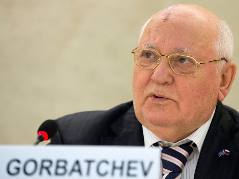 Bild zu Michail Gorbatschow