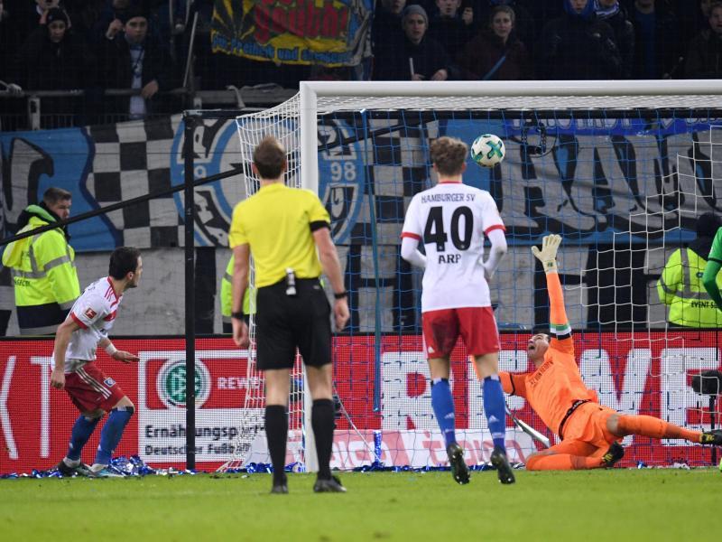 Bild zu Hamburger SV - Hannover 96