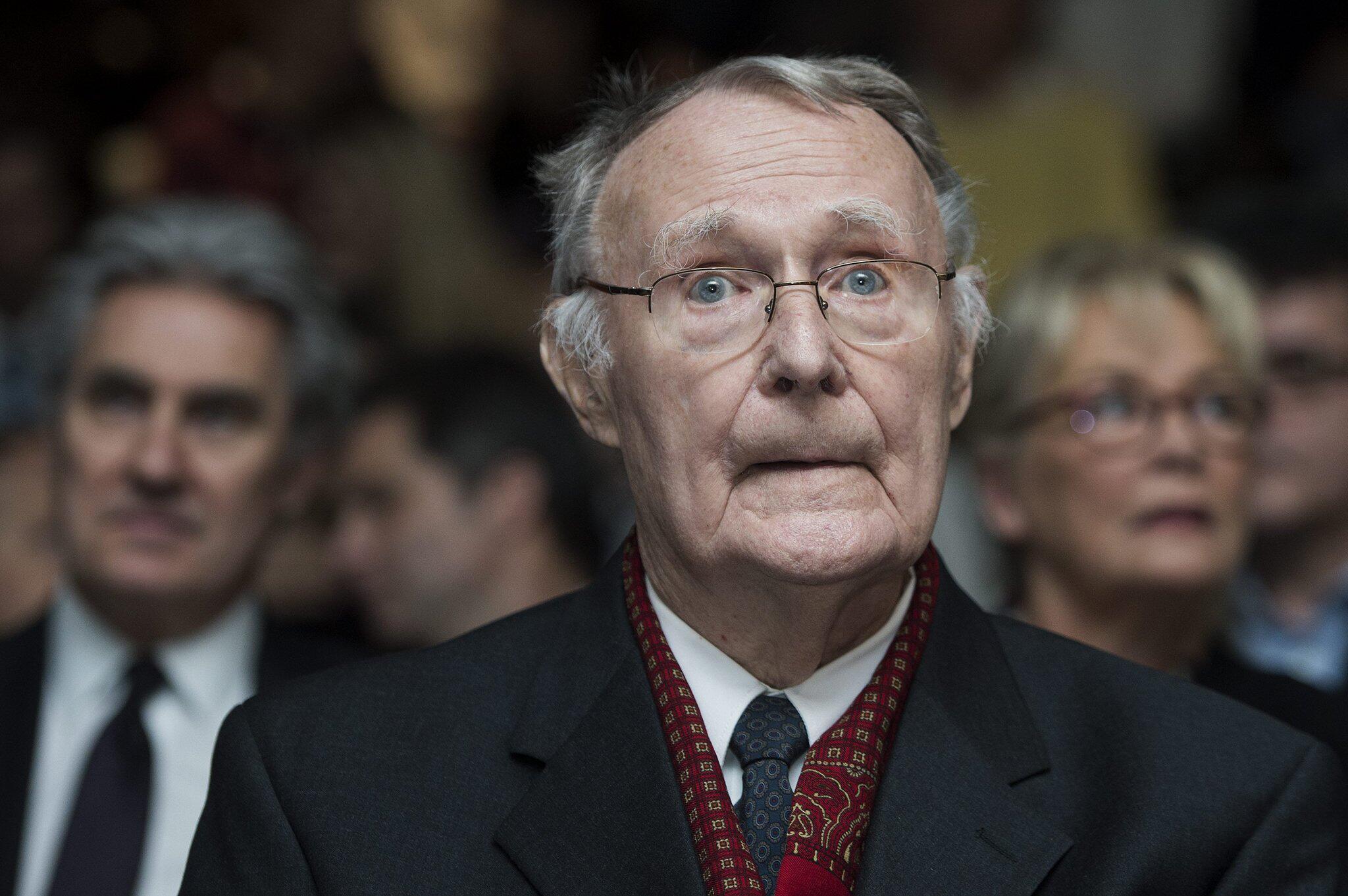Ikea-Gründer Ingvar Kamprad ist tot: Milliardär aus der schwedischen ...