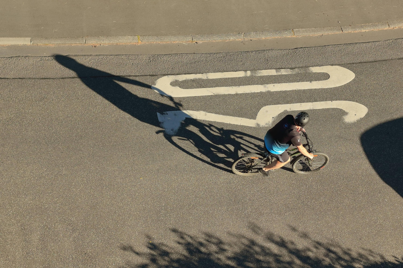 Bild zu Fahrrad, CO2