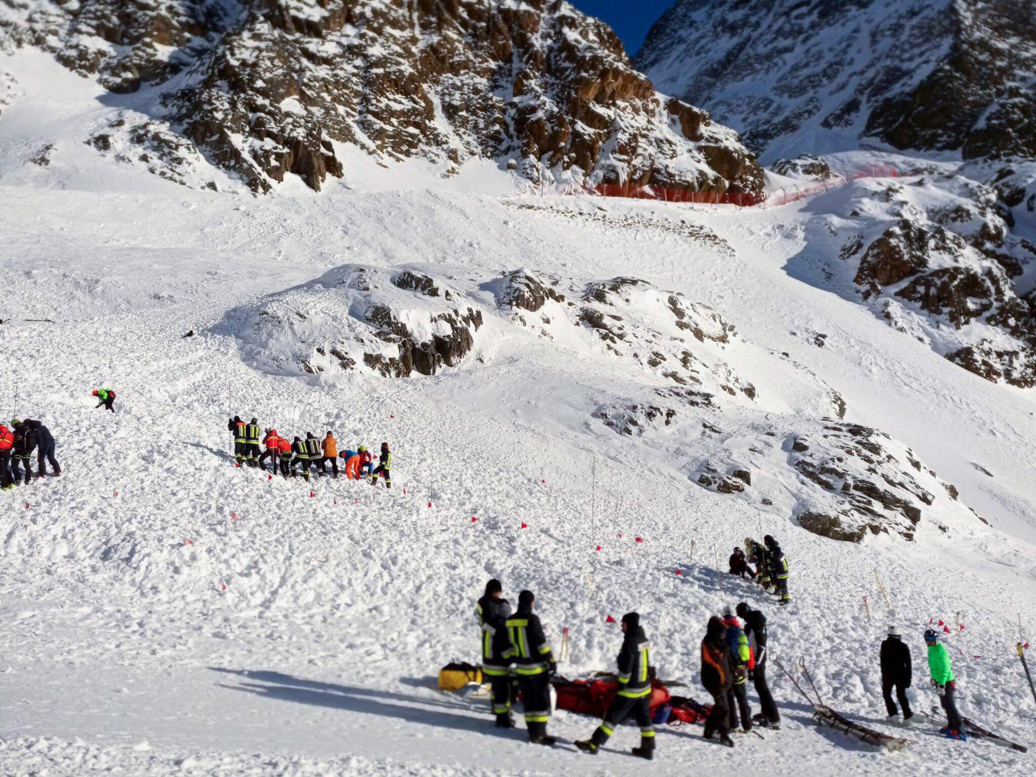 Bild zu Lawinenunglück in Südtirol