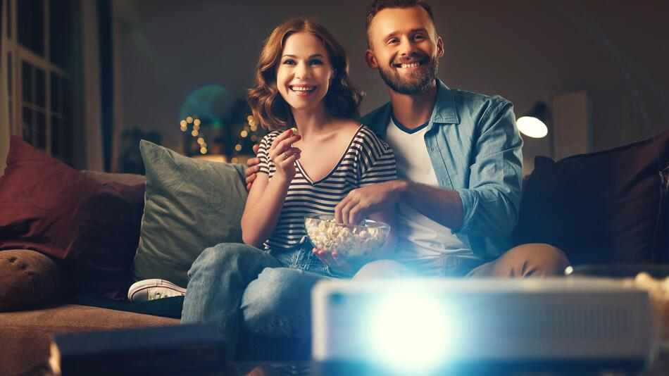 beamer, gerät, tv, fernsehen, heimkino, mini-beamer, handy, smartphone, projektor